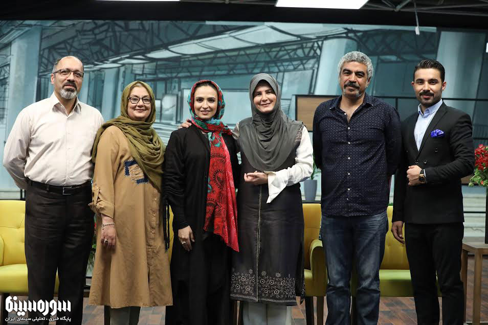 گیتی خامنه و گلاره عباسی میهمان سروش صحت در جُنگ پایانی «هزار داستان»