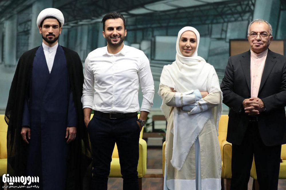 فروتن، طهماسبی و حاج آقا داور مهمان محمدحسین میثاقی در جُنگ پایانی «هزار داستان»
