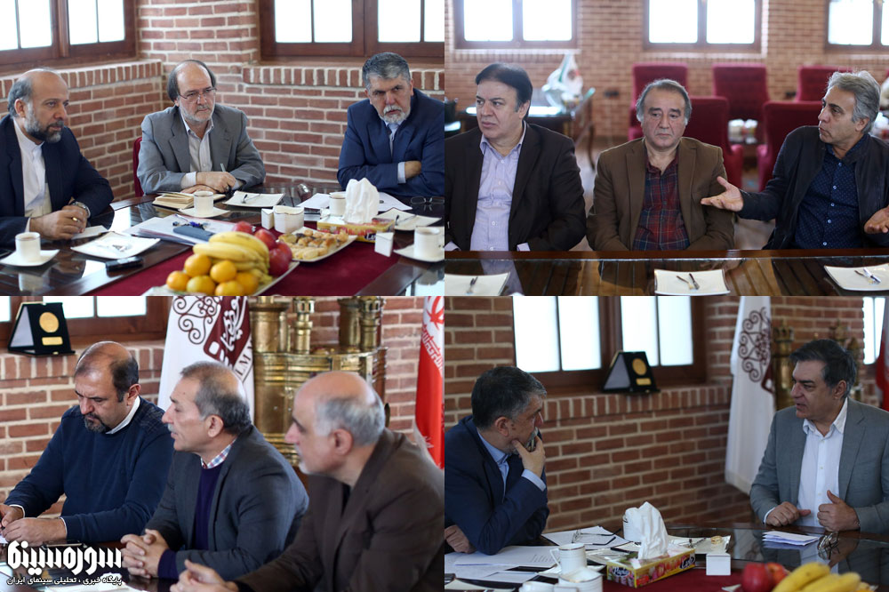 وزیر فرهنگ و ارشاد اسلامی با برخی از اهالی سینما دیدار کرد