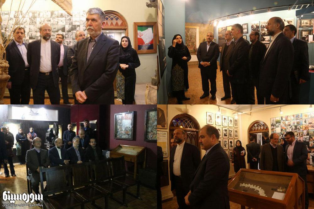 وزیر فرهنگ و ارشاد اسلامی از موزه سینما بازدید کرد