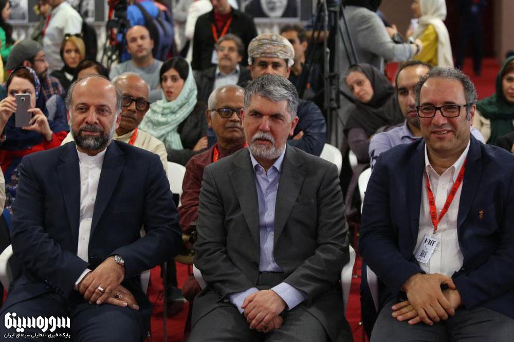 حیدریان: جشنواره جهانی فیلم فجر را تقویت میکنیم/ صالحی: سینمای ایران یک فرصت ملی است